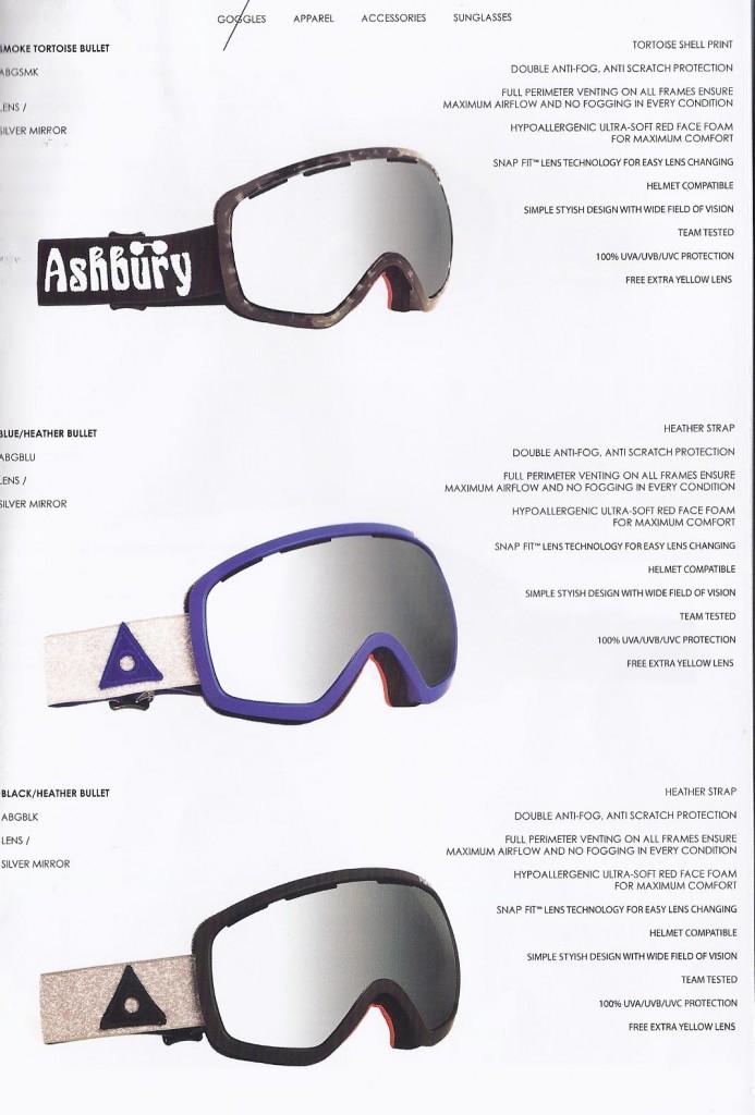 Ashbury Bullett Goggles