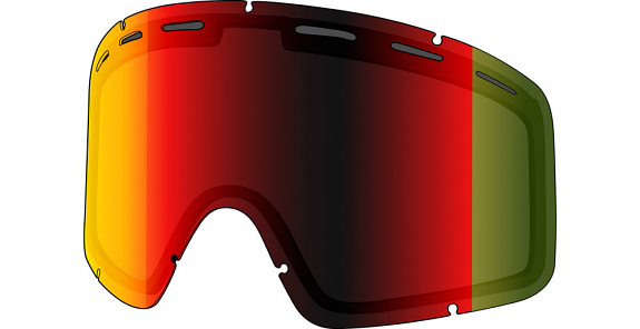 Shred Optics Monocle Replacement Lens