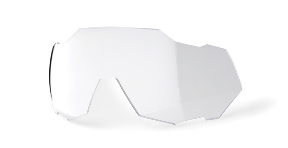 100 Percent SPEEDTRAP Replacement Lens-PHOTOCHROMIC Clear//Smoke Lentes DE Repuesto Hombres Plateado Mediano