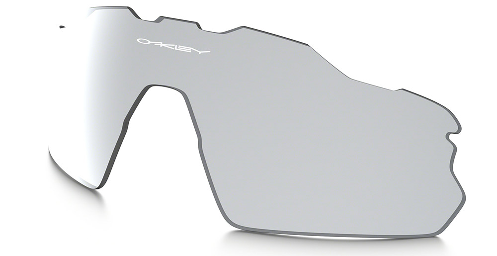 oakley radar pitch black iridium polarized replacement lenses
