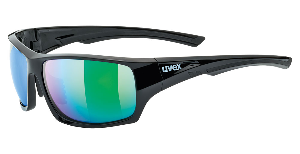 UVEX Sportstyle 222 Pola Sunglasses - Polarized Mirror Lens + + Lens Sleeve & Retainers 30ccae