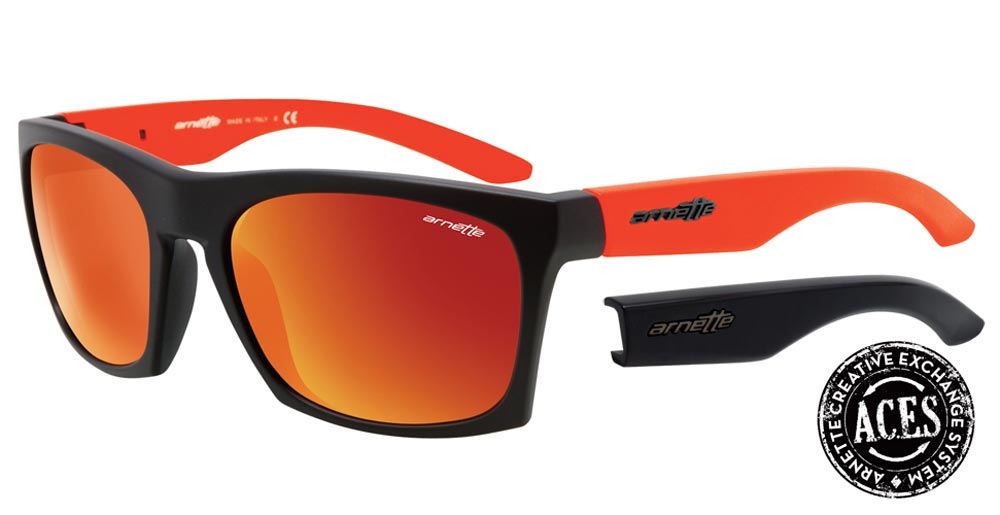 Arnette Dibs Sunglasses- Arnette Creative Exchange System