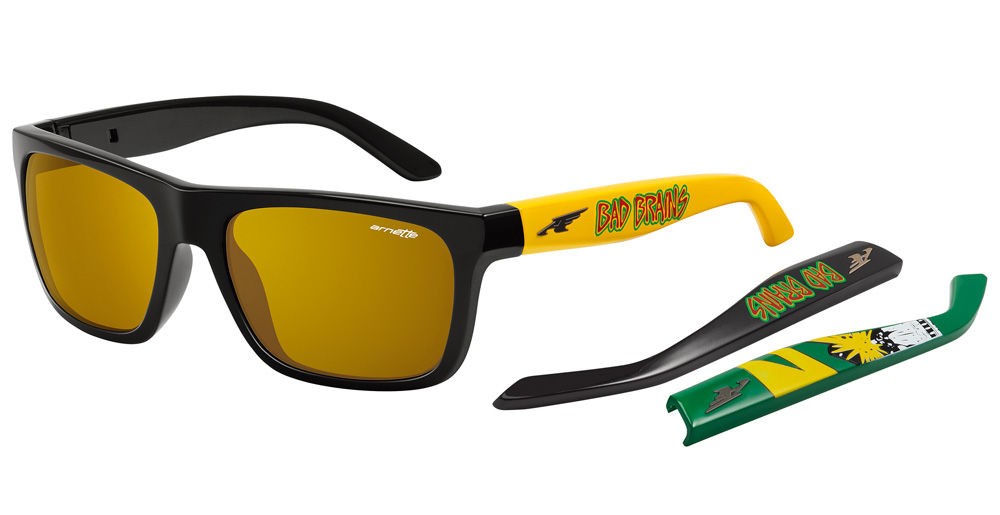 Arnette Dropout x Bad Brains Sunglasses- Arnette Aces Collection