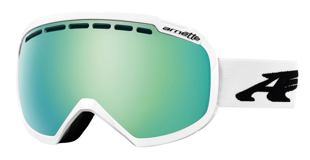 2014 Arnette Skylight Goggles Polished White