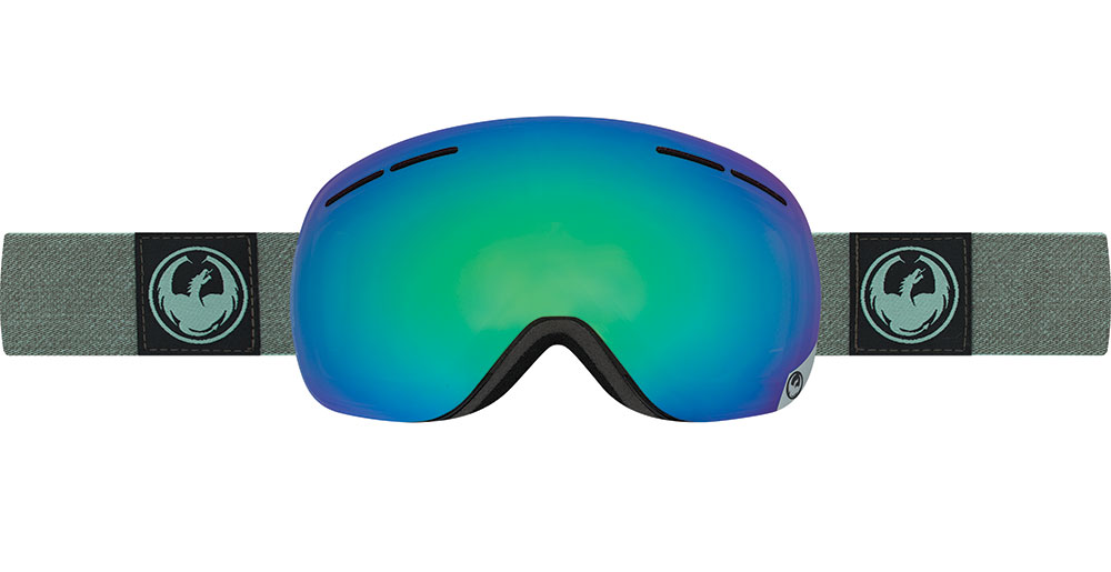 Dragon X1S Goggle 2017 w Optimized LumaLens + Bonus Lens