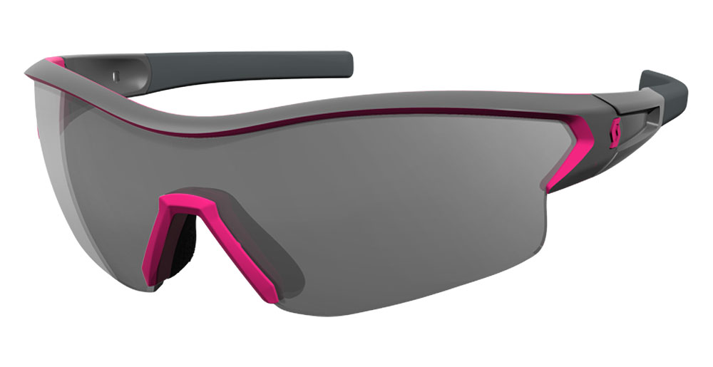 Scott Sonnenbrille Leap grey/pink grey + clear JpllW31P