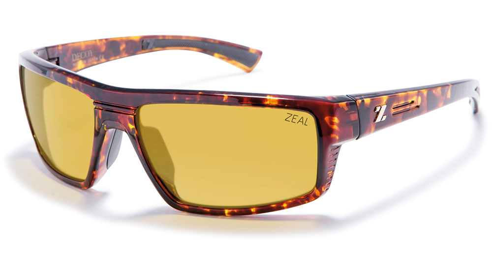ZEAL - DECOY Sunglasses - Polarized PHOTOCHROMIC Lens - ZEAL NEW + Hard Case Included 982713